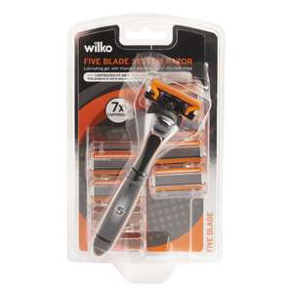 Wilko 5 Blade razor & 7 cartridges (Same as Hydro 5) £5.00 Wilko In Store