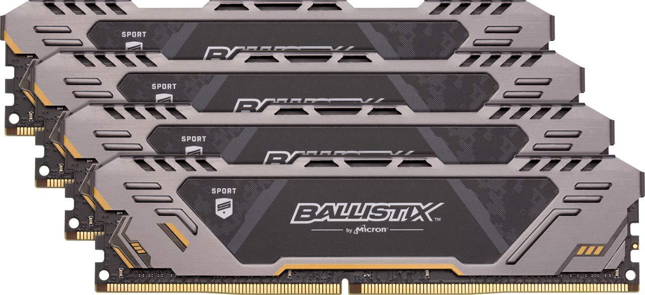 Ballistix BLS4K8G4D32AESTK 32 GB Kit (8 GB x 4) DDR4 3200 MT/s  CL16 £129.99 at Amazon