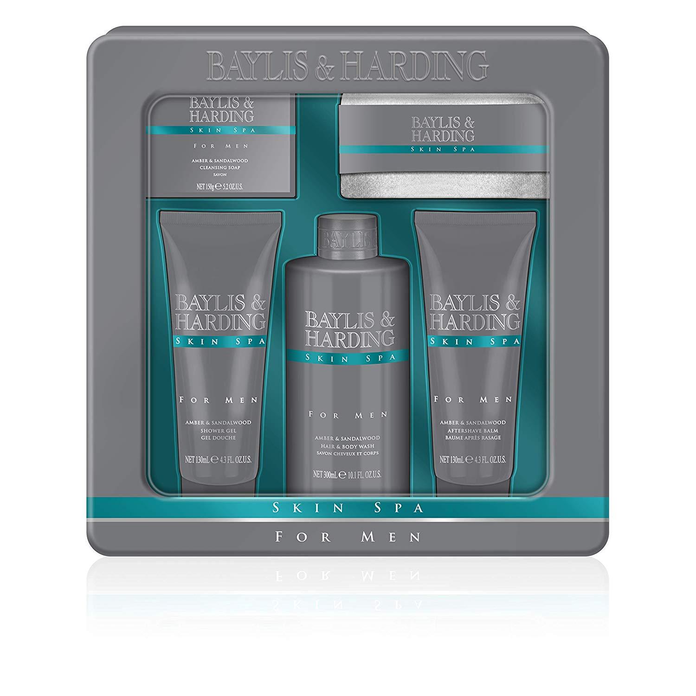 Baylis & Harding Skin Spa Men's Grooming Tin Gift Set £4.22 + £3.99 postage @ Amazon Pantry