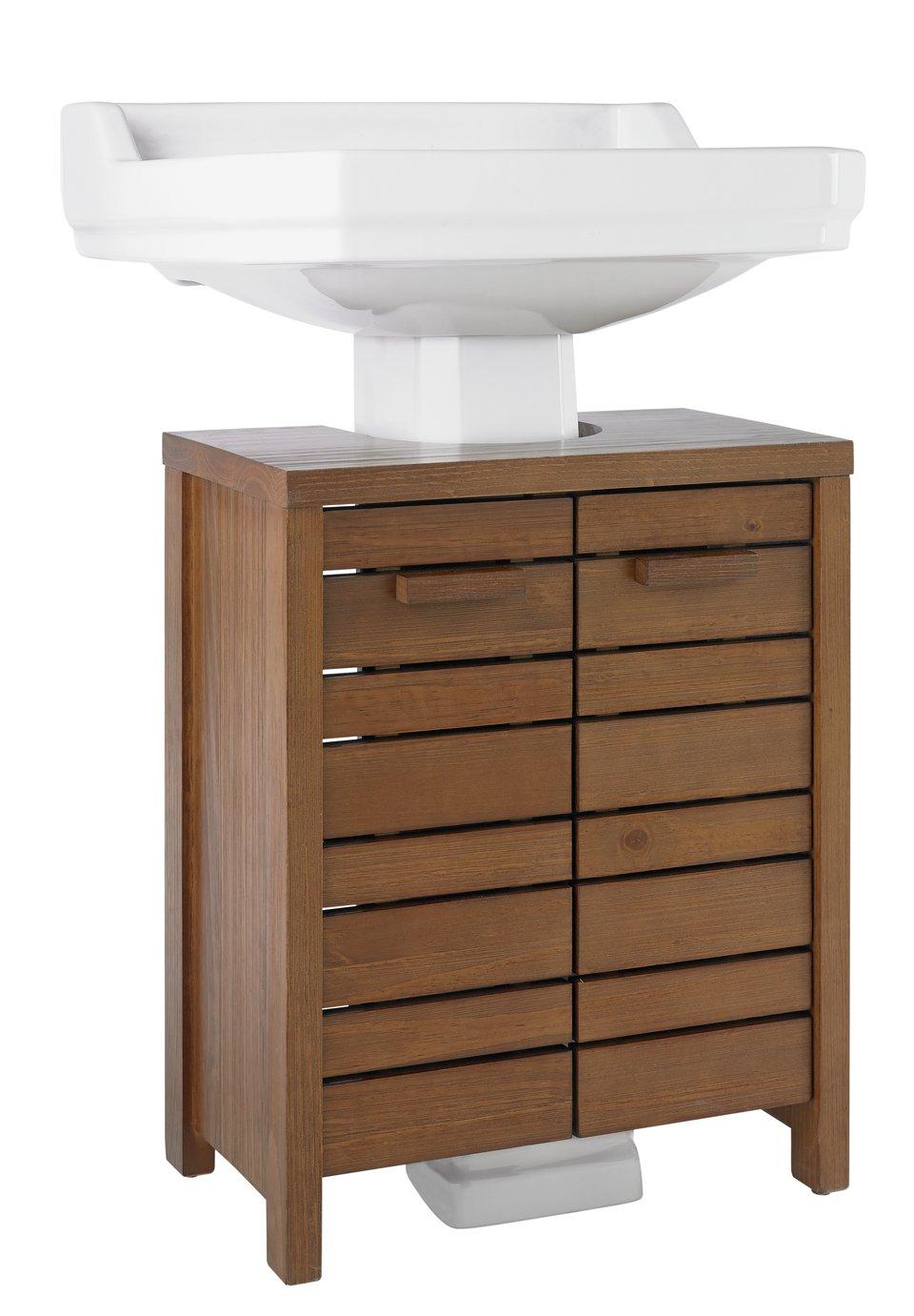 Argos Home Cranbrook Solid Pine Undersink Storage £21 @ Argos