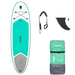 "ITIWIT 100 Inflatable Touring Stand Up Paddleboard 8'9"" - Green £199.99 delivered  £249.99 -20% @ Decathlon"