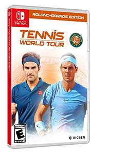 Tennis World Tour: Roland-Garros Edition [Nintendo Switch] delivered @ Amazon.co.uk (sold by Amazon US) - £20.00 + £3.09 UK Delivery