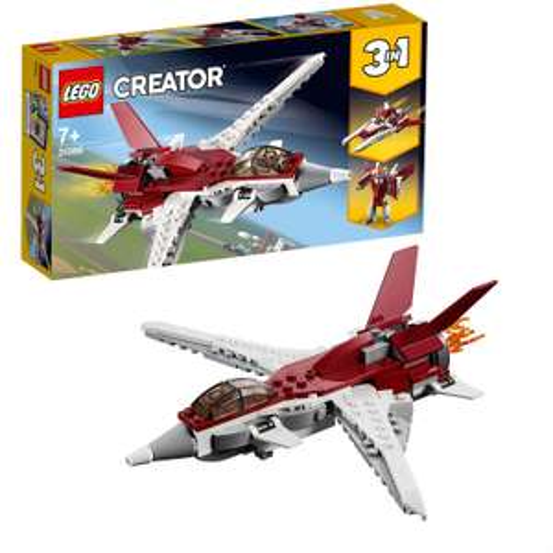 Lego Creator 31086 Futuristic Flyer 3 in 1 set - £4.99 Amazon add-on item