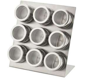 Argos Home 9 Piece Magnetic Spice Canister Set £5.10 at Argos-free C&C