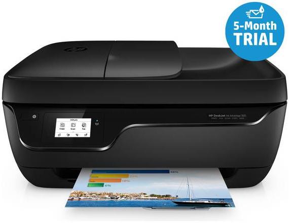 HP OfficeJet 3835 Wireless Printer & 5 Months Instant Ink for £29.99 @ Argos