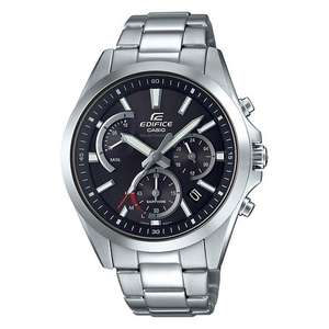 Casio Edifice Sapphire Solar  Chonograph Stainless Steel Watch £85.50 at H.Samuel