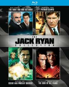 The Jack Ryan Collection [4 movie Blu-ray Box Set] - Region Free - £18.24 delivered @ Amazon.com