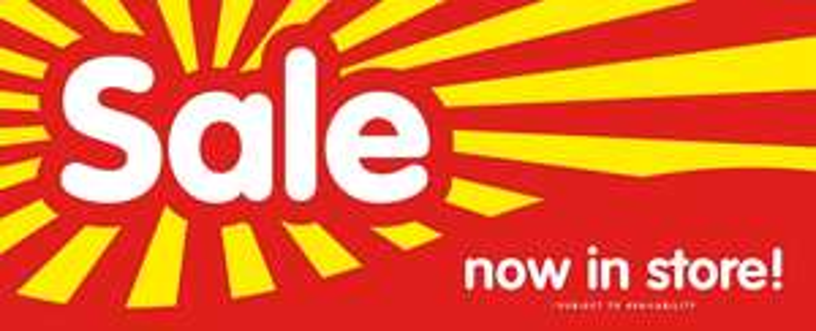 B&M wallpaper sale, starting at £3 per roll