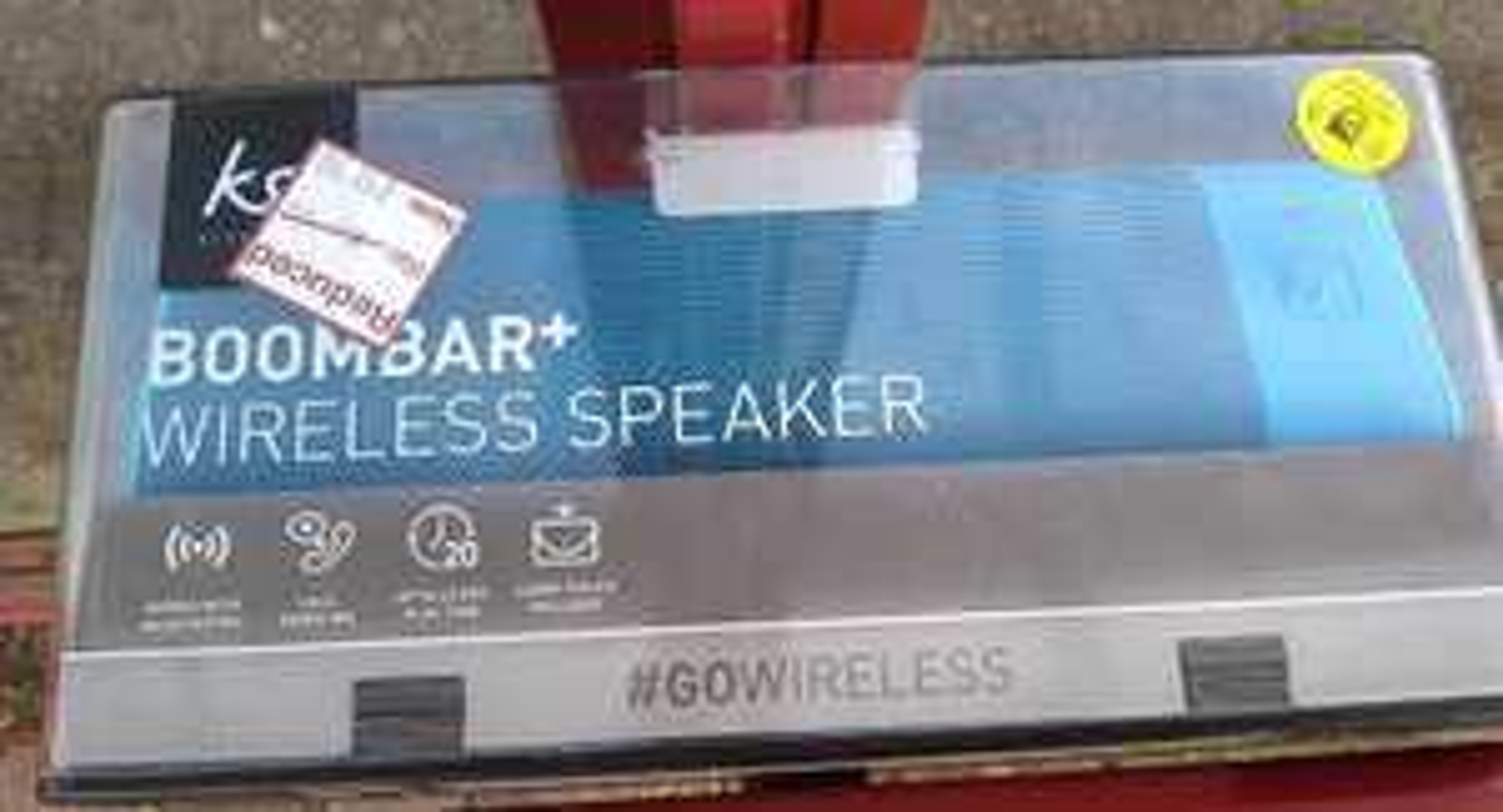 Kitsound Boombar Wireless Speaker Blue - £12.50 @ Wilko