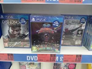 B&M have PS4 games all £6 each (Torquay)