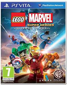 Marvel super heroes: universe in peril PSVita - £5.64 (Prime) £8.63 (Non Prime) @ Sold by Game Trade UK and Fulfilled by Amazon.