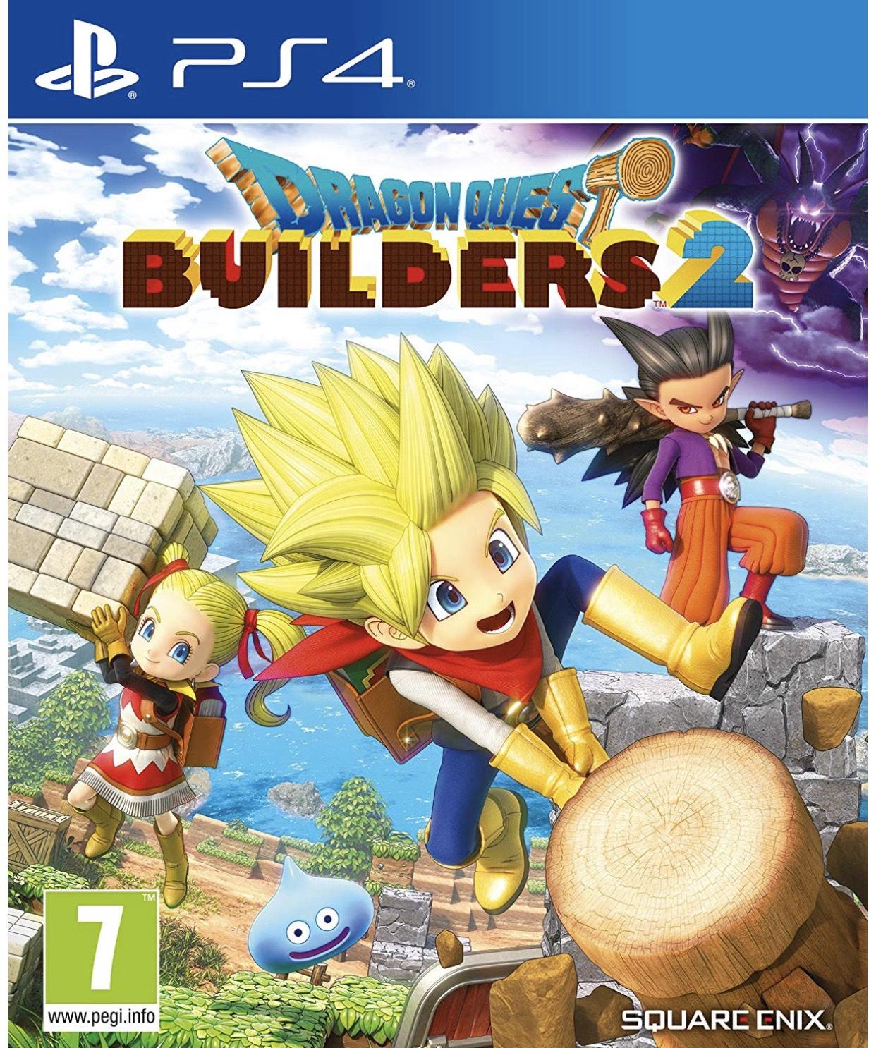 Dragon Quest Builders 2 (PS4) - £34.85 @ boss deals via eBay