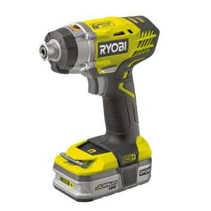 Ryobi ONE+ 18V Impact Driver Kit 1x1.5Ah - £76.30 @ Homebase reserve and collect only