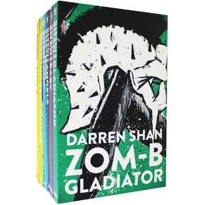 Darren Shan Zom-B - 6 Book Collection    Click & Collect £5 @ The Works
