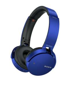 Sony MDR-XB650BT Extra Bass On-Ear Headphones with Bluetooth-blue or red only, £49.99 at Argos-Free C&C