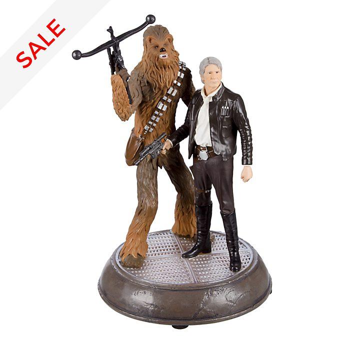 Disneyland Paris Star Wars Han & Chewie Light-Up Figurine @ Disney Store £44.70 plus £3.95 Delivery . Original price £149