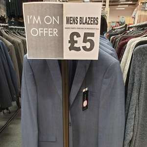 Mens blazer jacket taylor & Wright was £54 now £5 instore @ Matalan (Renfrew)