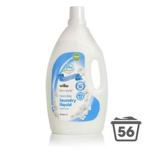 Wilko Laundry liquid 56 washes - reduced to clear instore