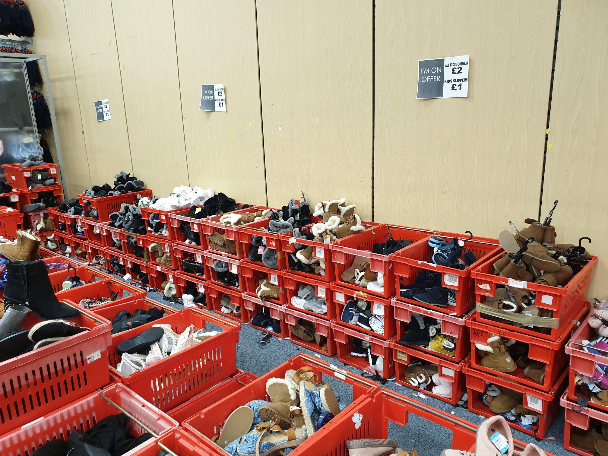 Various kids foot wear £1 instore @ matalan renfrew