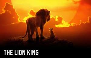 Pre-order Disney The Lion King (2019) to own for £4.99 with code @ CHILI