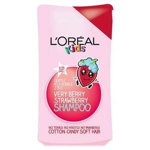 Loreal Kids Extra Gentle 2-in-1 Very Berry Shampoo 250ml - 75p (Amazon pantry delivery £3.99)