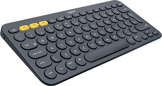 Logitech K380 Multi-Device Bluetooth Keyboard UK Layout, Black £19.99 @ Amazon (+£4.49 non Prime)