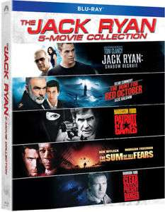 The Jack Ryan 5-Movie Collection [Blu-ray Box-Set] - £16.58 delivered @ Ebay.co.uk (seller all_your_music)
