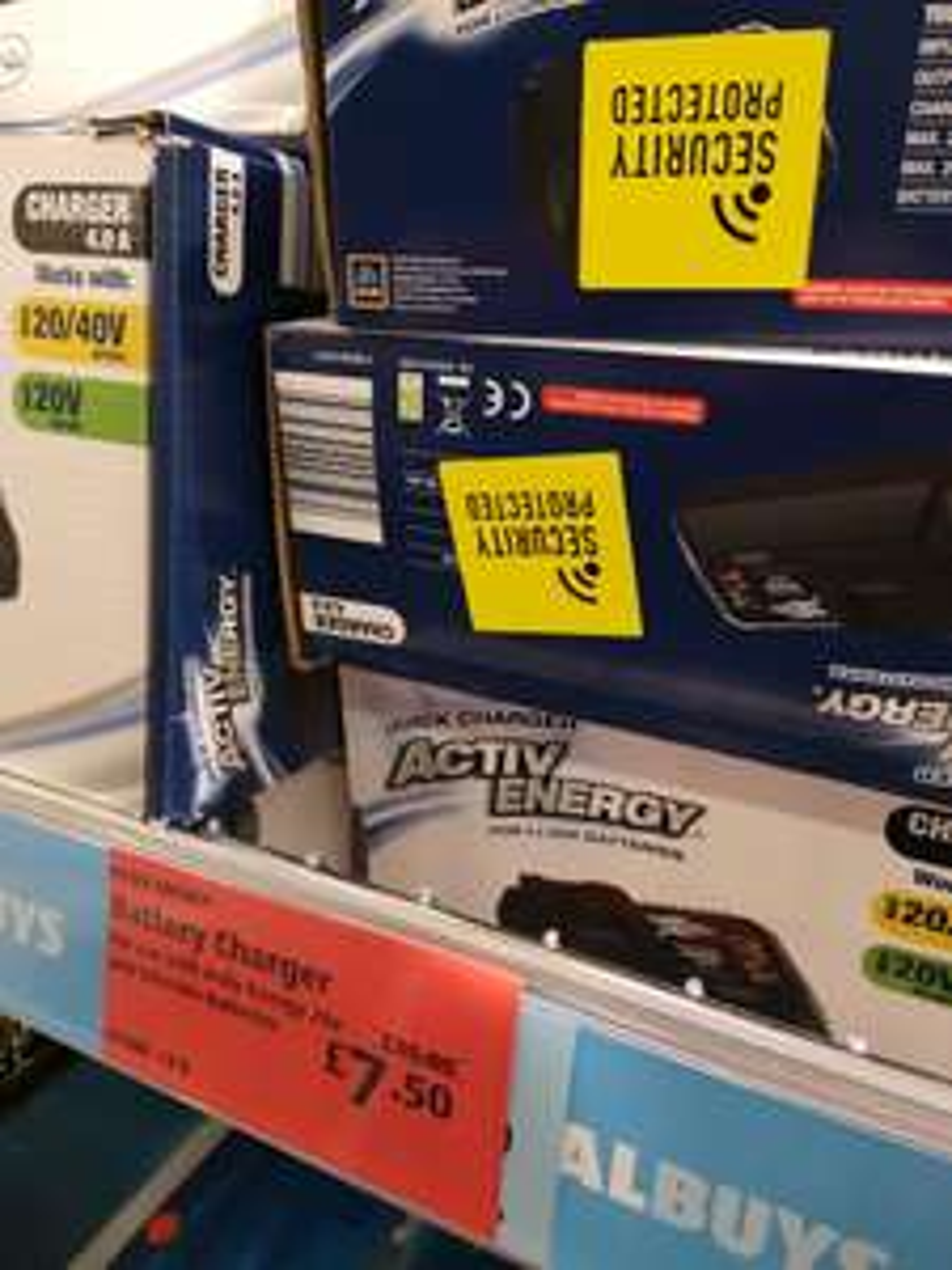 Aldi Activ Energy 20V/40V Charger, reduced in store £7.50