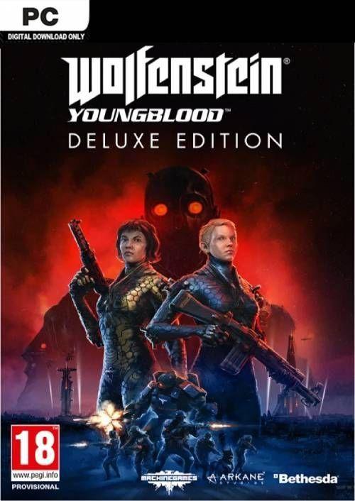 Wolfenstein: Youngblood Deluxe Edition PC £25.99 @ CDKeys