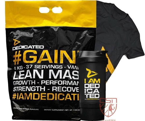 Dedicated Gainz 4kg + FREE Bundle £46 @ Cardiffsportsnutrition