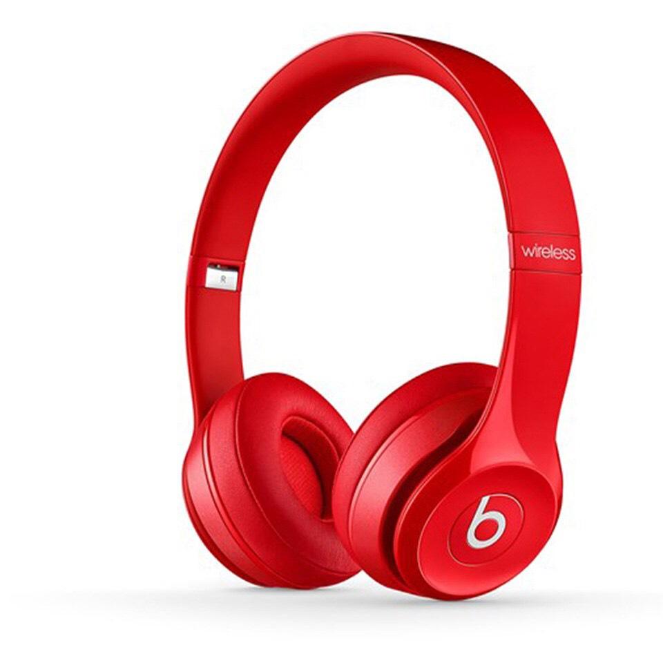 Beats by Dr. Dre: Solo2 Wireless On-Ear Headphones - Red