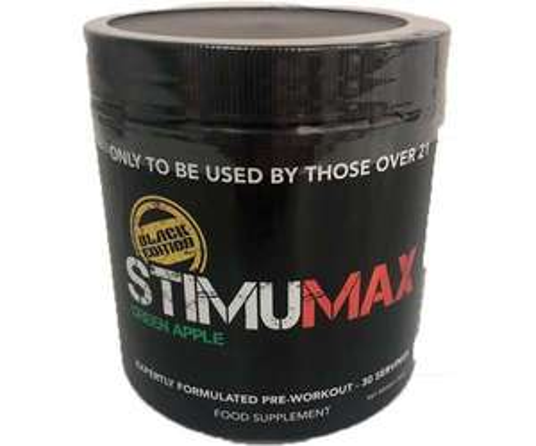 StimuMax Black EditionPre workout £32 @ Cardiffsportsnutrition
