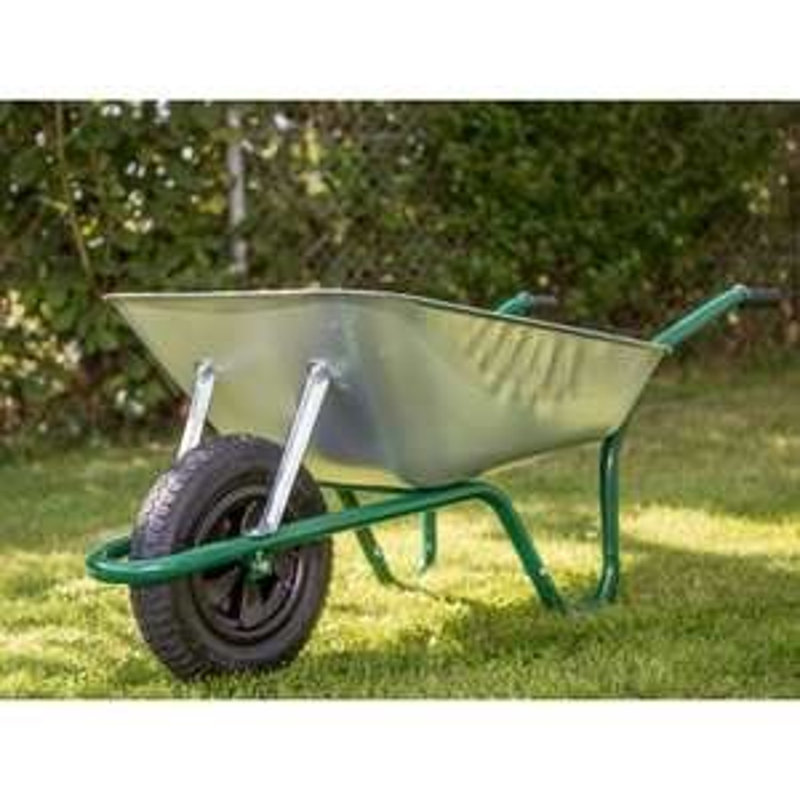 Easiload Galvanised Wheelbarrow 85L Pneumatic Wheel - £27 instore @ Morrisons