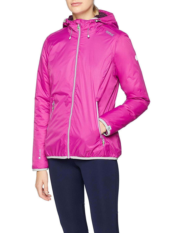 Regatta Women's Tarren Waterproof and Breathable Lined Jacket Size 16 & Vivid Viola Only - Low Stock Deal @ Amazon