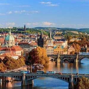 Prague 2nt trip from London w/ breakfast & rtn flights Christmas Markets 4* hotel £84.15pp (£168.30 total) @ Groupon / Crystal Travel