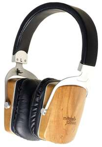 Mitchell & Johnson MJ2 Audiophile Headphones *Hi Res* Closed Large Supraaural single Electret driver & 40mm dynamic driver @ Amazon