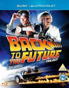 Back to the Future Trilogy Blu-Ray used £3.86 delivered with code @ Music Magpie