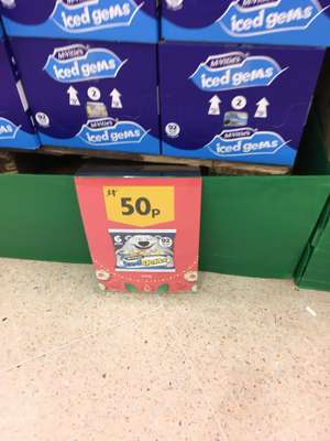 6 Pack Iced Gems at Morrison's for 50p