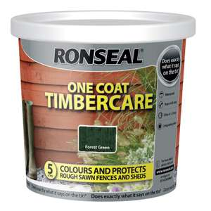 Ronseal timbercare 5L £3.99 @ Home Bargains