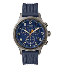 Timex Allied Grey Chronograph Men's Watch £110.00 £85.00 £68 @ Beaverbrooks