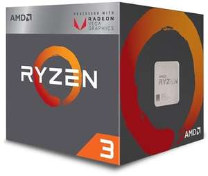 AMD Ryzen 3 2200G £73.16 @ Box