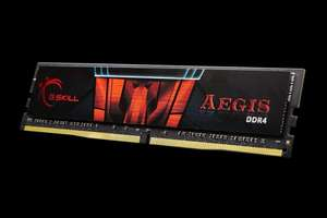 G Skill Aegis 2x8GB DDR4 3000Mhz CL16 RAM £60.60 @ Amazon