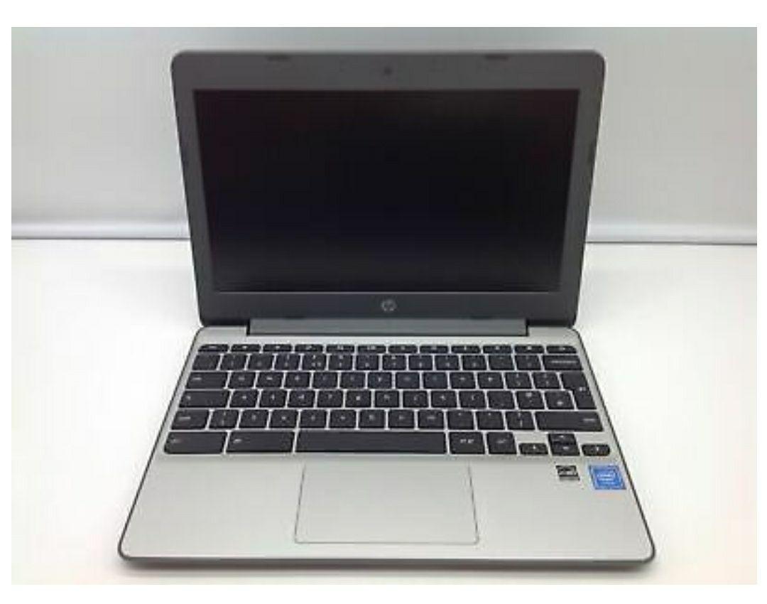 """*Refurb* HP 11-v001na 11.6"""" Intel® Celeron® 4GB of RAM 16GB eMMC Chromebook Grey £119 @ Elek Direct eBay"""