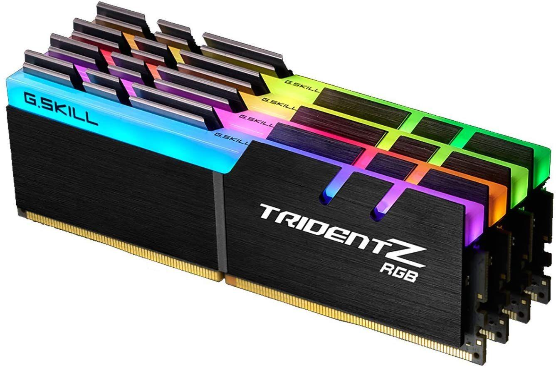 G.SKILL F4-3000C16Q-32GTZR 32 GB (8 GB x 4) Trident Z R GB Series DDR4 3000 MHz PC4-24000 CL16 £175.99 @ Amazon