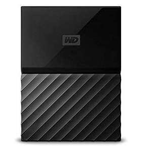 WD My Passport 1 TB Portable Hard Drive for PC, Xbox One and PlayStation 4 - Black £39.99 @ Amazon