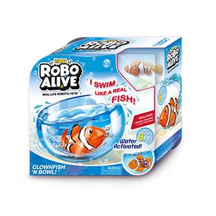 Robo Alive Clownfish n bowl £5 instore at Asda