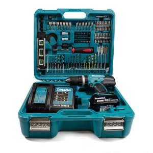 Makita DHP453SFTK 18V LXT Combi Drill with 1x 3.0Ah Battery and 101 piece Accessory set in Case £114.96 @ Lawson HIS