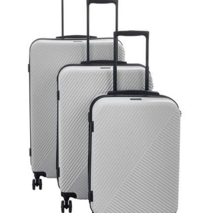 CALPAK  Grey Ryon Suitcases £32 @ TK Maxx