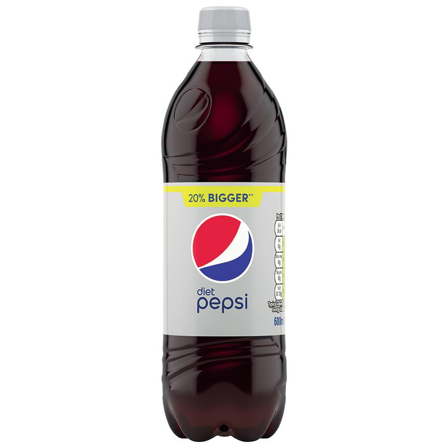 Diet Pepsi 600ml 39p in-store @ Home Bargains