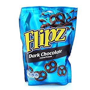 Flipz Dark Chocolate 100g @ Heron Foods - 39p Or 3 For £1
